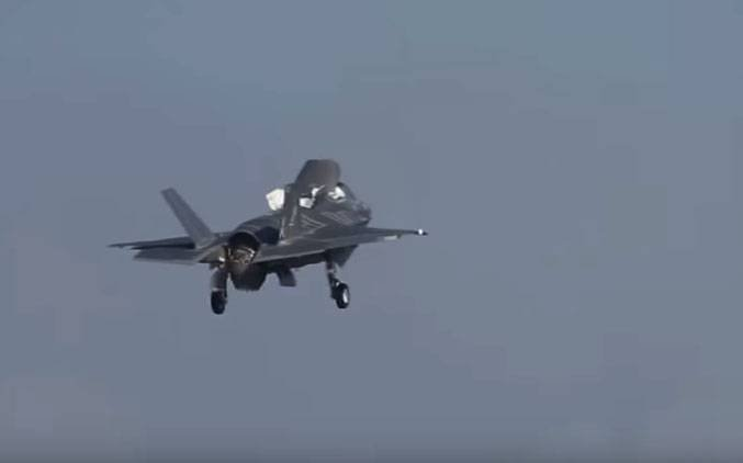 Japan announced seven cases of the emergency landing of the aircraft F-35