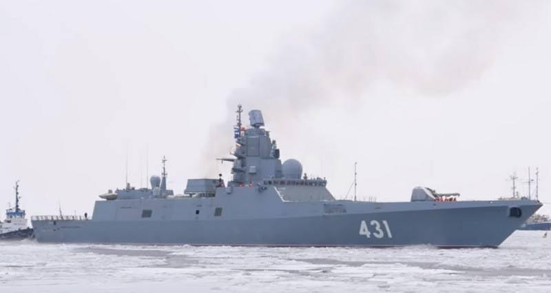 """ССЗ """"Северная верфь"""" вывела на ходовые испытания сразу два корабля"""