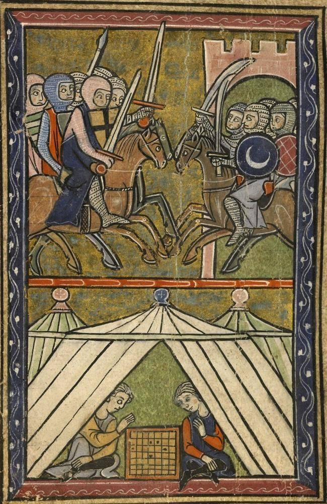 तीन शताब्दियों के शूरवीर और शिष्टता। शूरवीर के शूरवीर