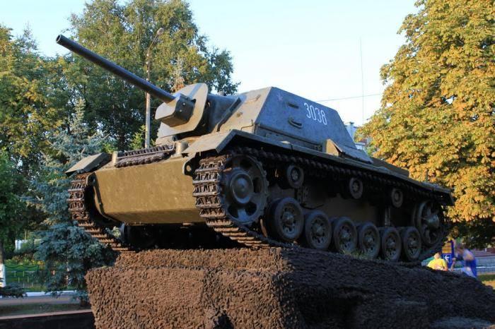 हथियारों के बारे में कहानियां। SU-76: पहला हमला