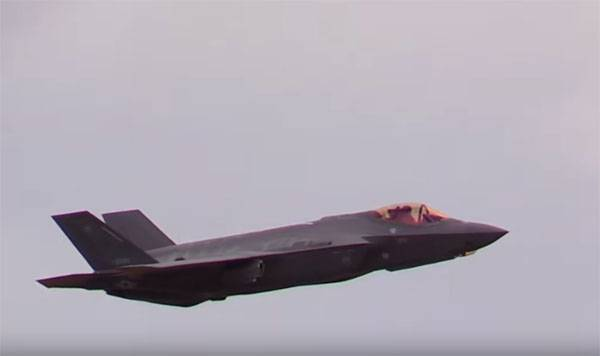 Japan told about the problems identified F-35A with a sharp change height