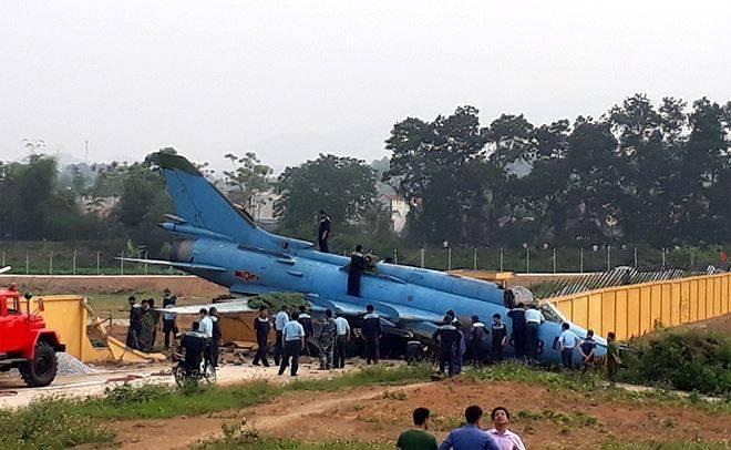 O incidente com o Su-22M4 ocorreu no Vietnã