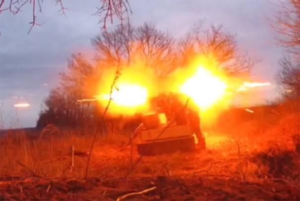 """В """"Правом секторе"""" заявили о нанесении удара по """"российским военнослужащим"""""""