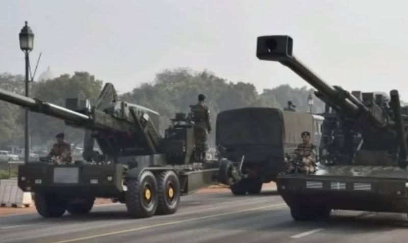 India will buy Israeli 155-mm autonomous howitzers ATHOS 2052