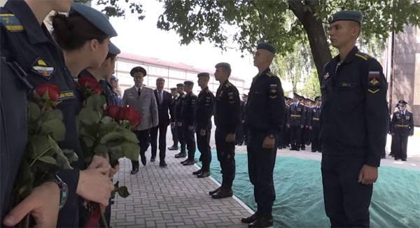 В Минобороны решено наказать командиров из-за ситуации с погонами в РГВВДКУ