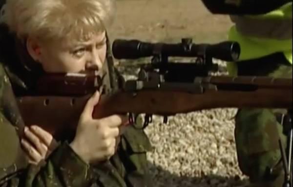Литва получила в подарок от США винтовки 50-х годов