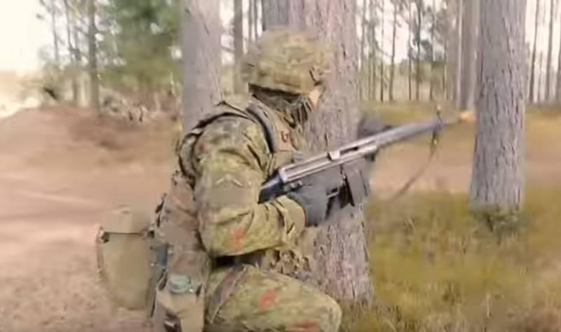 """В Эстонии начались масштабные манёвры НАТО """"Весенний шторм-2019"""""""