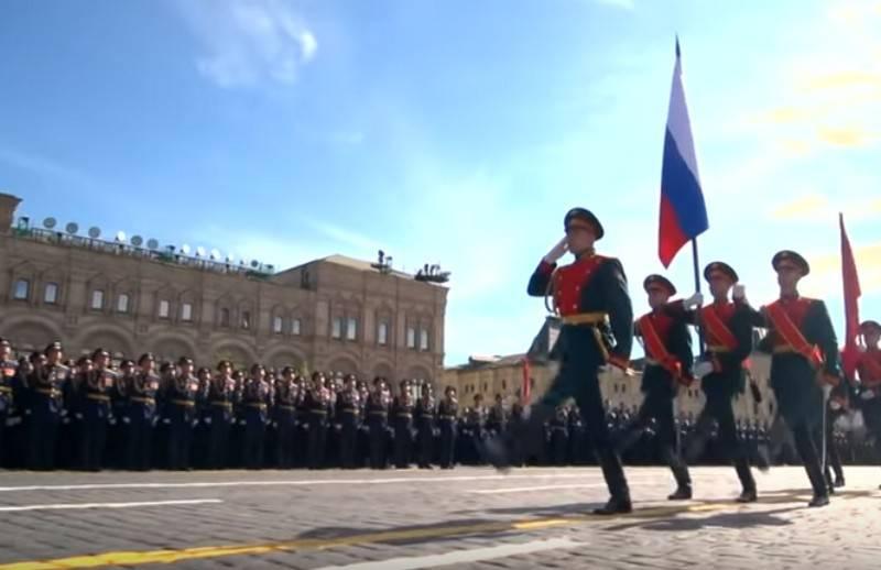 Минобороны запустило проект о предстоящих парадах Победы