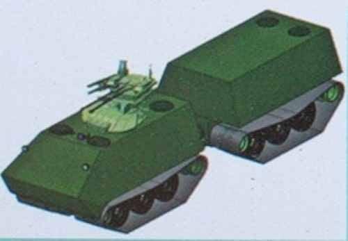 Двухзвенные САУ и танки. Интересно, но бесперспективно