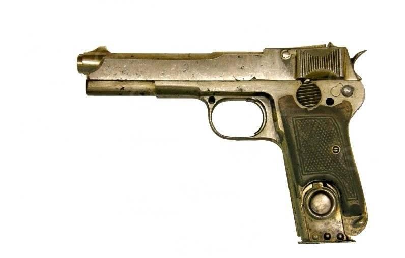Rusya'nın ilk kendi kendine yükleme tabancası
