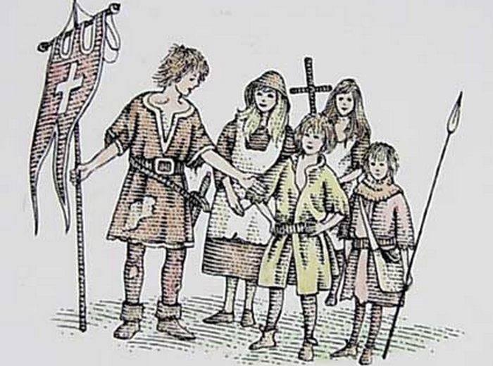 Участники Крестового похода детей