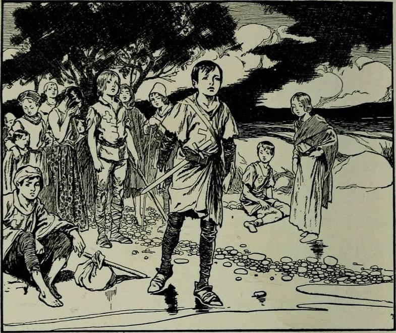 """Иллюстрация из книги Артура Гая Терри """"Истории других земель"""""""