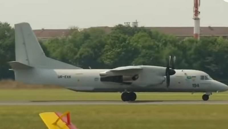 Ucrânia suspendeu o desenvolvimento do An-132D