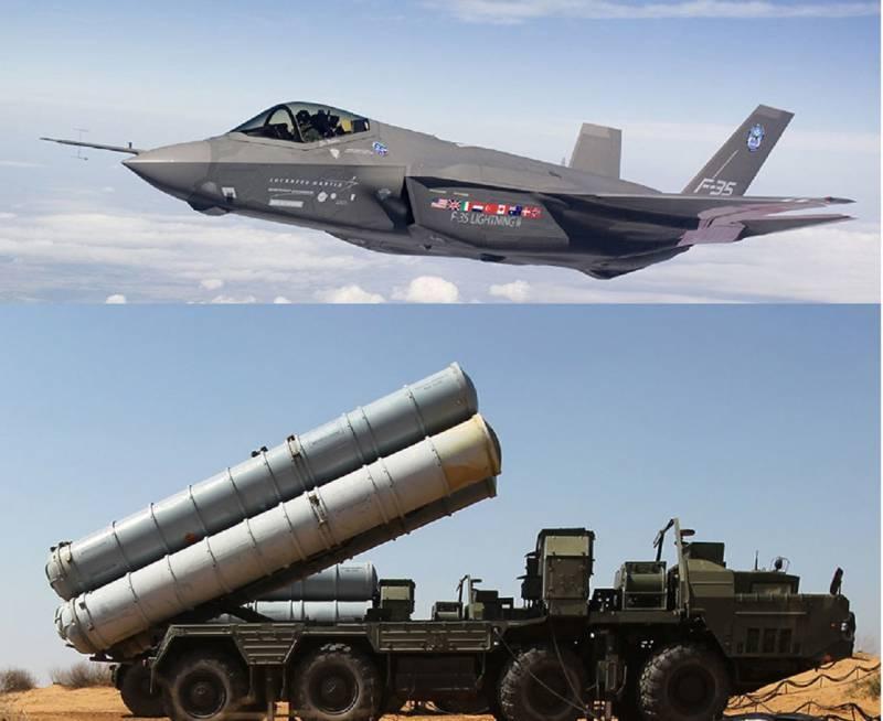 С-400 закрыл небо для F-35