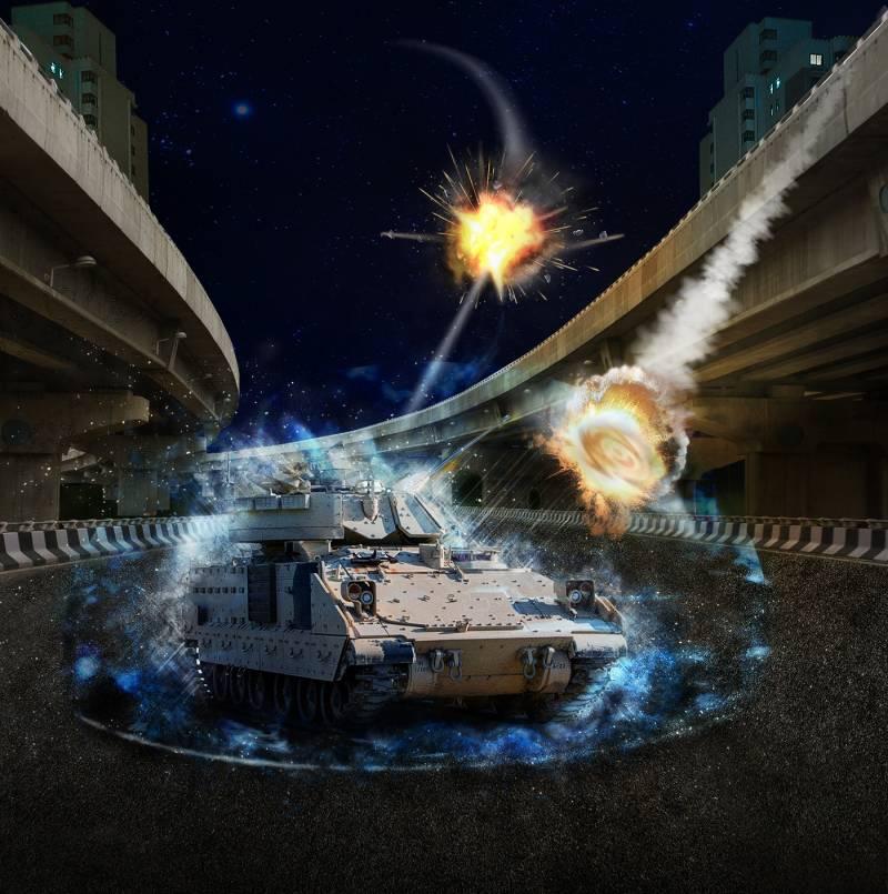 Перспективный комплекс активной защиты TARDEC / Lockheed Martin MAPS (США)