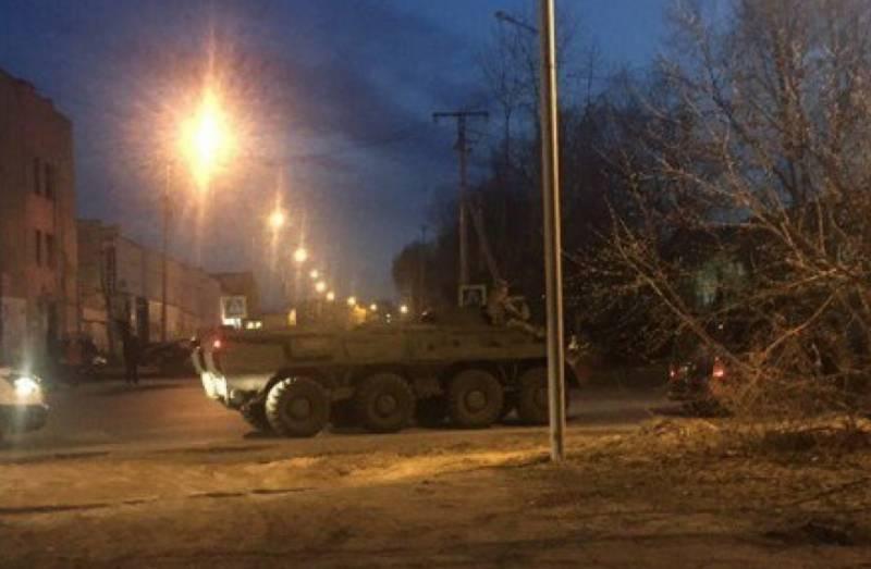 В Тюмени ФСБ ввело режим КТО и ведет бой с боевиками