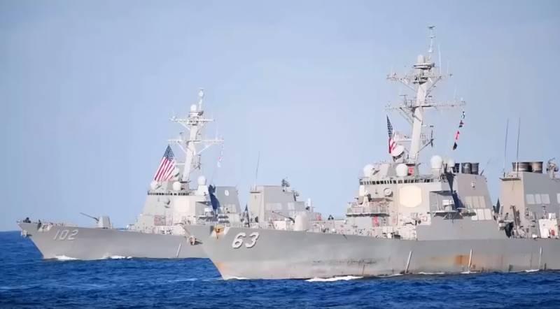 Упавший в море F-35 от субмарин России и КНР