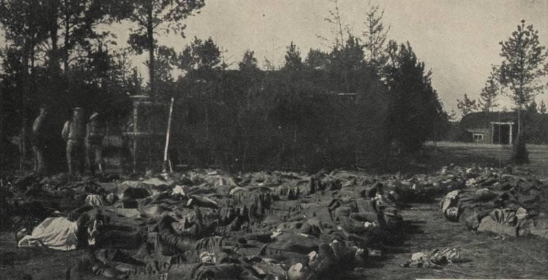 В клубах ядовитого кошмара. «Отравление выпущенным немцами газом вызывало сильную рвоту…»