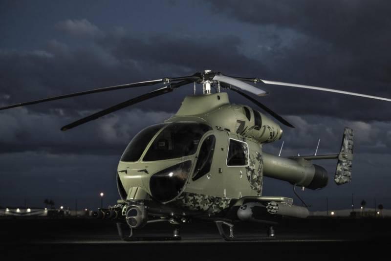 MD 969. Боевой вертолёт в погоне за коммерческим успехом