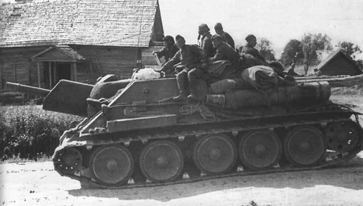 무기에 관한 이야기. SU-122 : 불공정하게 자손의 그늘에서