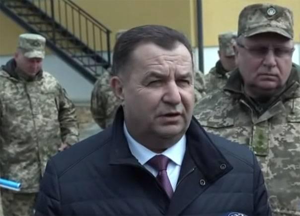 Полторак прокомментировал слова Коломойского о гражданской войне на Донбассе