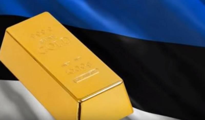 В Банке Эстонии остался один слиток в одиннадцать кг золота