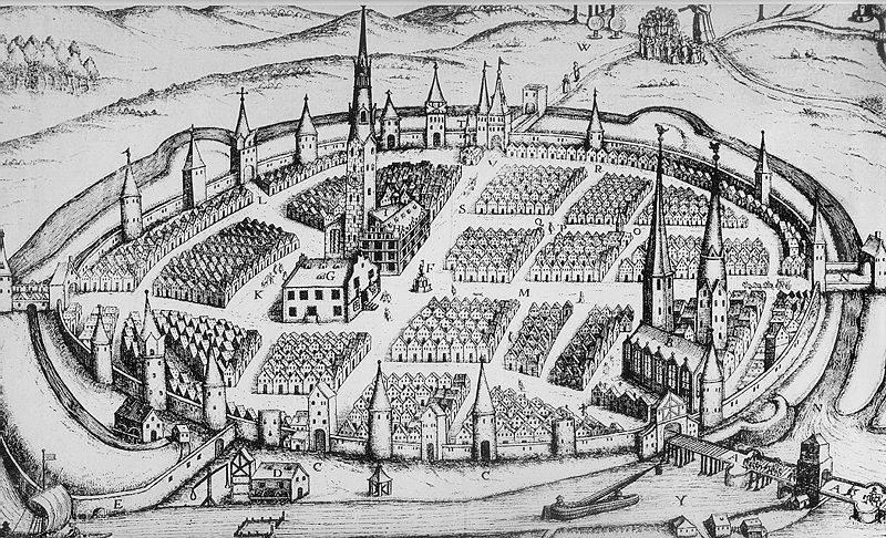 Гамельн в 1662 г.