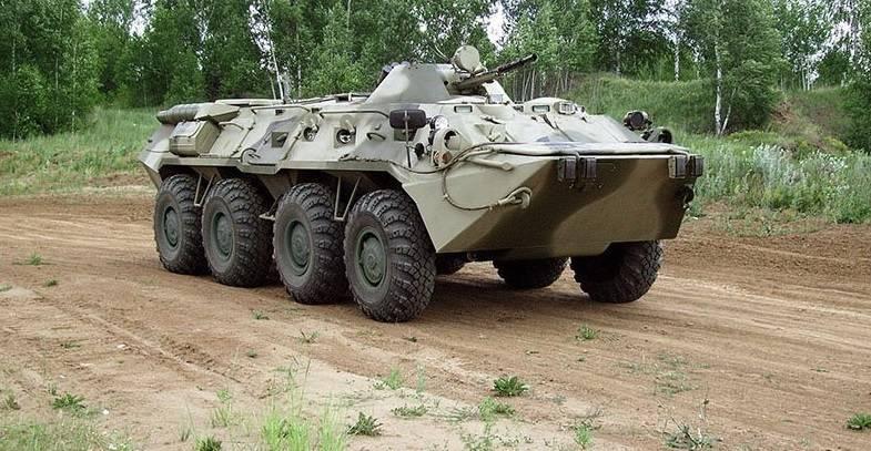 How modernized BTR-80