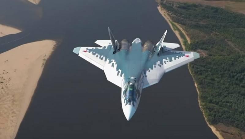 Первый серийный Су-57 поступит в ВКС до ноября этого года
