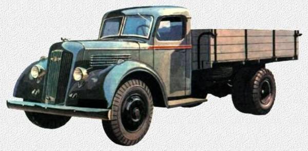 YAG-7系列卡车。 战前的最后一战