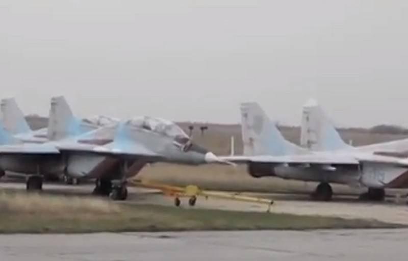 Na Criméia, eles contaram sobre o estado do restante equipamento militar da Ucrânia