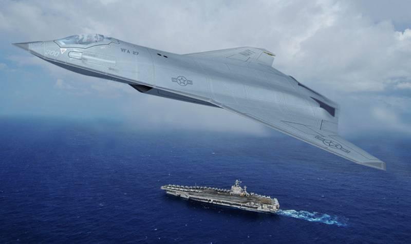 Marinha dos EUA quer novo lutador de convés
