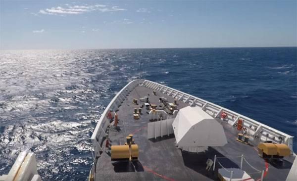 В Венесуэле сообщили о нарушении морских границ кораблём США