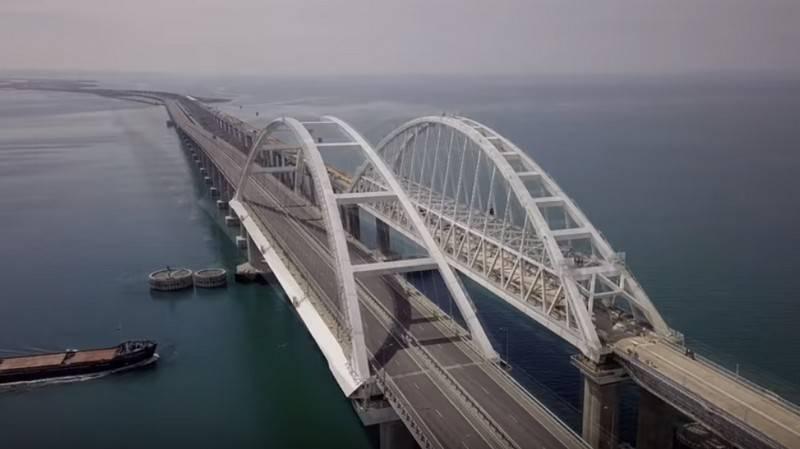 Строители подвели итоги работы Крымского моста за год