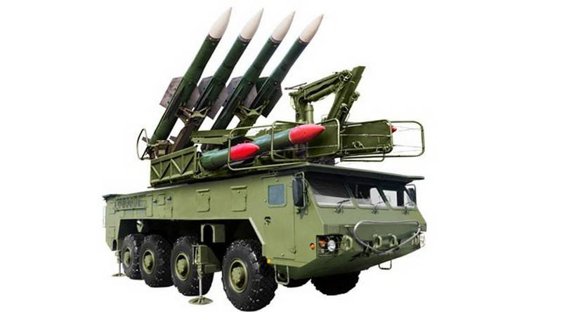 "Belarus introduced a new medium-range air defense system ""Buk-MB3K"""