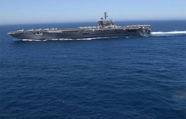after the way the passage of US aircraft carriers in the Black sea