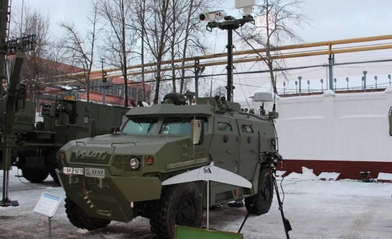 Belarus showed a new intelligence complex BRDM-4B