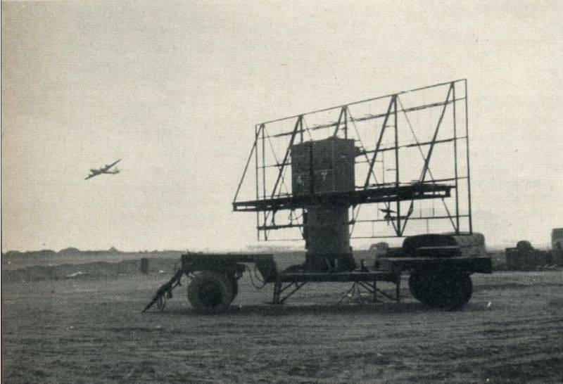 Radar controls the airspace of Czechoslovakia in the composition of the OVD