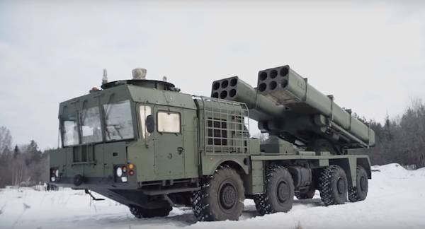 В российскую армию поступили РСЗО нового поколения