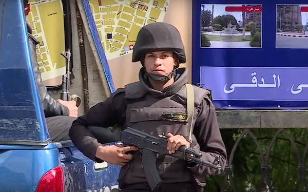 Numerous casualties in the explosion near the pyramids of Giza