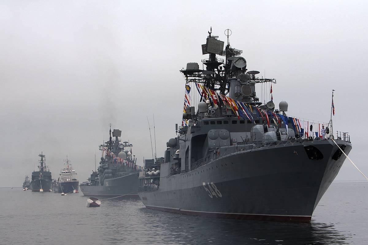 картинка с тихоокеанским флотом