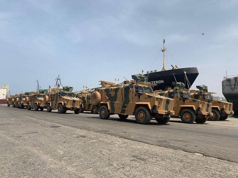 La Turquie a expédié les MRAP Kirpi II et Vuran en Libye