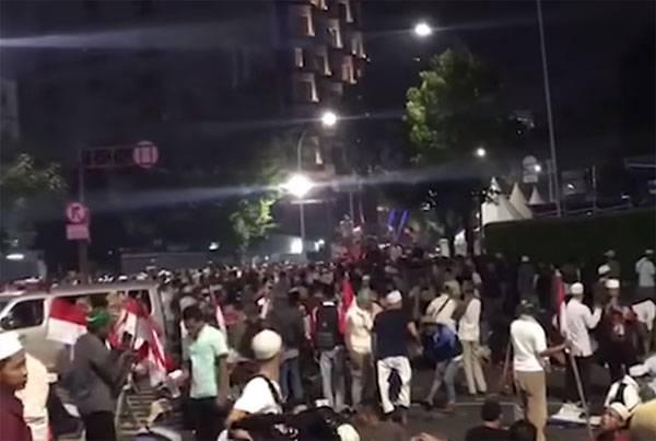 La capital de Indonesia está en crisis