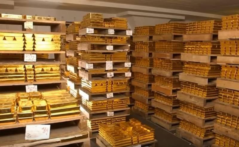 """В Британии закупки золота Россией назвали """"плохим знаком"""""""