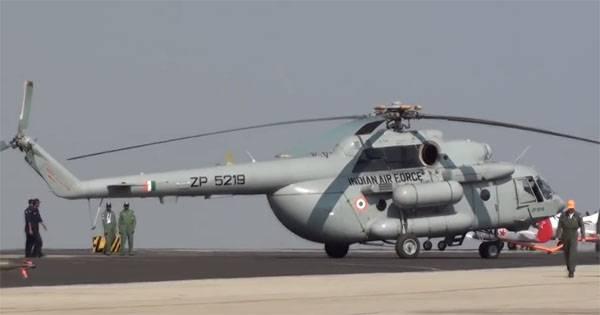 Заявлено, что Ми-17 ВВС Индии в феврале сбили свои из ЗРК производства Израиля