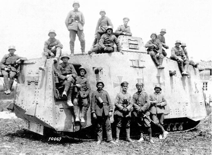 प्रथम विश्व युद्ध के जर्मन टैंक