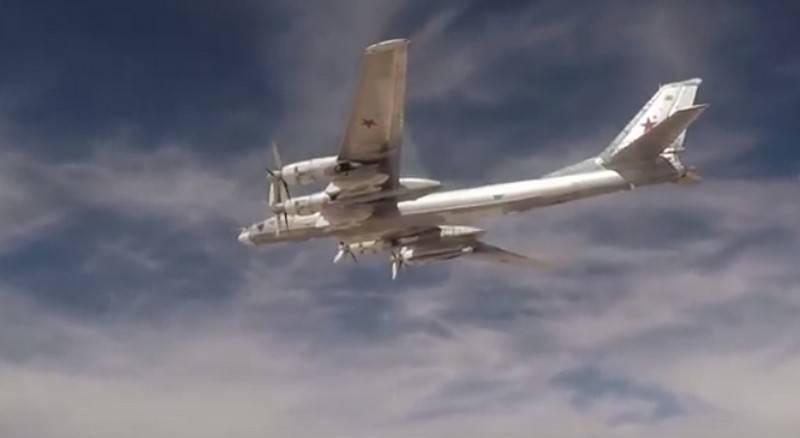 """Российские """"Медведи"""" Ту-95МС второй день летают у берегов Аляски"""