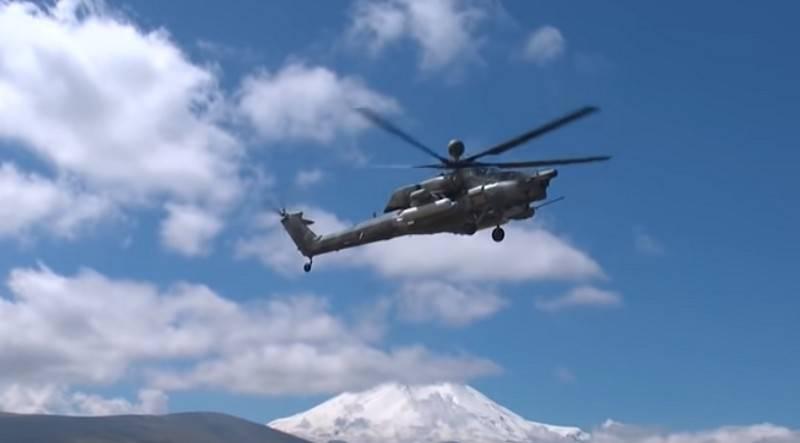 ВКС РФ получат сто новейших вертолётов Ми-28НМ