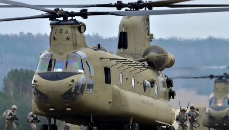 Американский вертолёт CH-47F Chinook получит более мощные двигатели