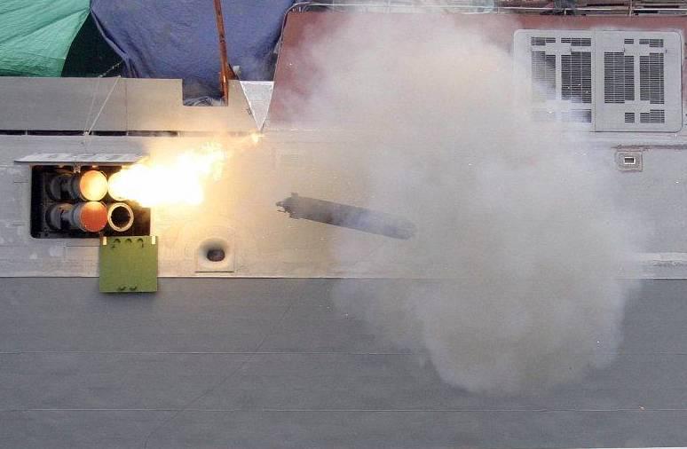 Tubo torpedo ligero. Necesitamos esta arma, pero no la tenemos.